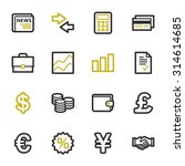 finance web icons set | Shutterstock .eps vector #314614685