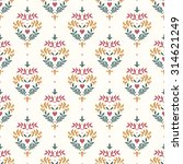seamless floral pattern with... | Shutterstock .eps vector #314621249