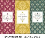 luxury banners collection.... | Shutterstock .eps vector #314621411