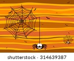 halloween background with...   Shutterstock .eps vector #314639387