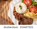 typical dish of brazil  rice... | Shutterstock . vector #314657321