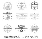 photography badges and labels... | Shutterstock .eps vector #314672324
