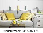 modern living room interior | Shutterstock . vector #314687171