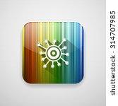 virology  icon   Shutterstock .eps vector #314707985