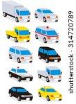 transport vector | Shutterstock .eps vector #314720789
