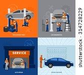 mechanic design concept set...   Shutterstock .eps vector #314728229