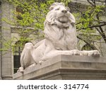 This Is A Shot Of The Lion In...
