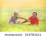 active seniors having a break... | Shutterstock . vector #314781611