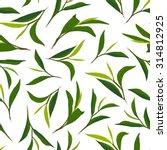 pure tea. botanical style... | Shutterstock .eps vector #314812925