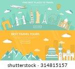 flat design illustration... | Shutterstock .eps vector #314815157