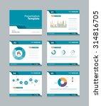 vector template presentation... | Shutterstock .eps vector #314816705