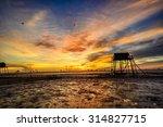 beautiful landscape  early...   Shutterstock . vector #314827715