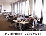 Open Plan Office Interior...