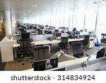 large open plan office interior ... | Shutterstock . vector #314834924