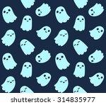 halloween background. seamless... | Shutterstock .eps vector #314835977