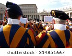 vatican   may 4  opening of... | Shutterstock . vector #314851667