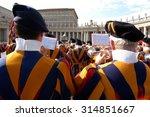 vatican   may 4  opening of... | Shutterstock . vector #314851667