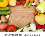 various summer vegetables... | Shutterstock . vector #314861111