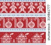 dark blue  light blue and red... | Shutterstock .eps vector #314861777