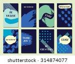 hipster sea background.... | Shutterstock .eps vector #314874077