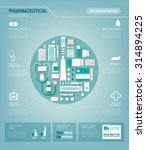 pharmaceutical industry and... | Shutterstock .eps vector #314894225