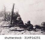 World War One German Soldiers...