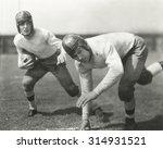 halfback running play | Shutterstock . vector #314931521