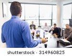 business man making a...   Shutterstock . vector #314960825