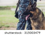 Soldiers From The K 9 Unit...