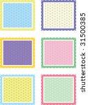 illustration of six square... | Shutterstock . vector #31500385