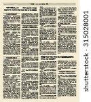 Old Newspaper. Vintage Magazine ...