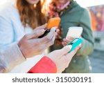 people  friendship  cloud... | Shutterstock . vector #315030191