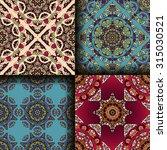 vector seamless pattern set... | Shutterstock .eps vector #315030521