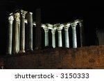 roman temple | Shutterstock . vector #3150333