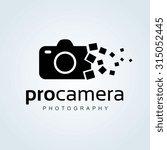 camera  photography vector logo ... | Shutterstock .eps vector #315052445