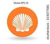 shell vector illustration   Shutterstock .eps vector #315077081