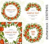cape gooseberry red | Shutterstock .eps vector #315078401