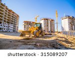building panorama with the... | Shutterstock . vector #315089207