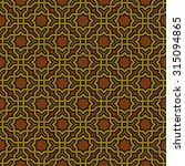 arabesque pattern in arabian... | Shutterstock .eps vector #315094865