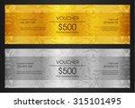 gold vip club card | Shutterstock .eps vector #315101495