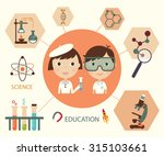 science and education elements... | Shutterstock .eps vector #315103661