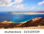 view on the graciosa island... | Shutterstock . vector #315105539