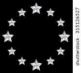 silver stars | Shutterstock .eps vector #315126527