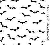 vector illustration of bats... | Shutterstock .eps vector #315167789
