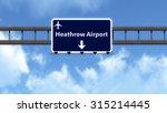 london heathrow england united... | Shutterstock . vector #315214445