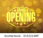 Grand Opening Sign Stamp Bokeh...