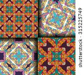 vector seamless pattern set... | Shutterstock .eps vector #315225749