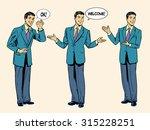set business concept... | Shutterstock .eps vector #315228251