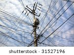 Chaotic Tangle Of Wires Toward...