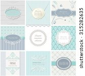frames  cards  patterns.... | Shutterstock .eps vector #315282635